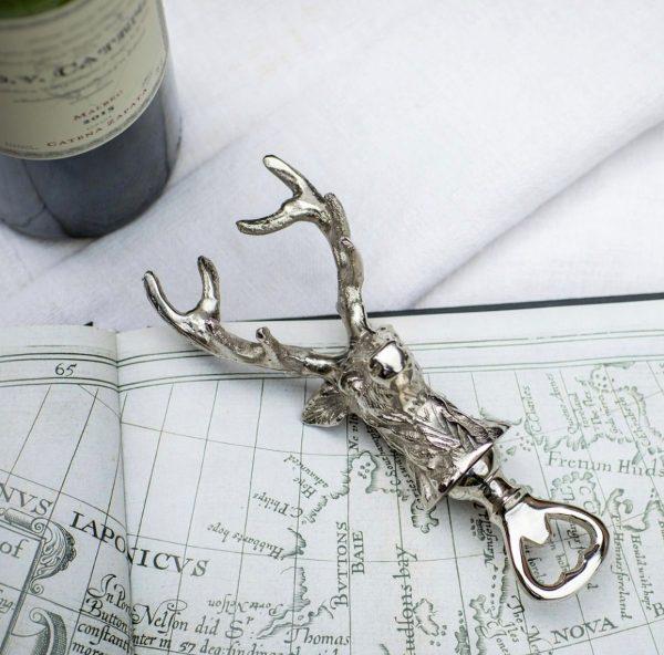 stag bottle opener