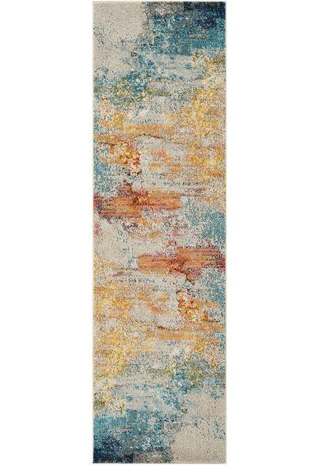 Celestial rug in seal runner