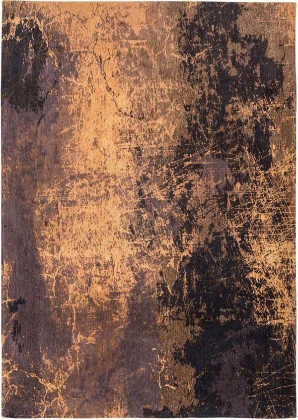 Cracks rug in colour deep mine