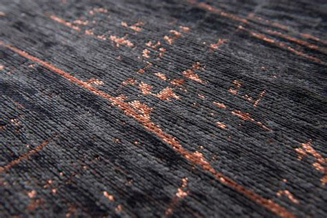 Griff rug in colour soho copper