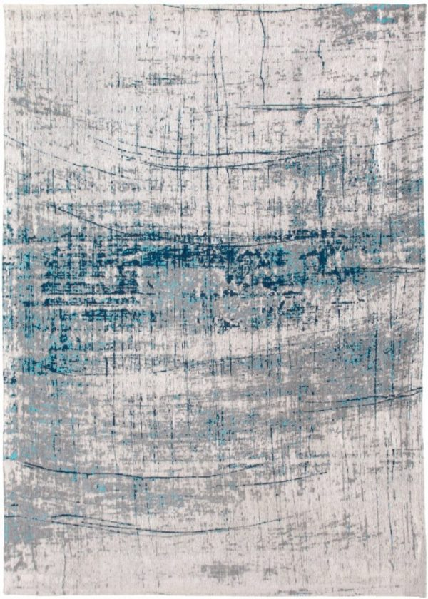 Griff rug in colour bronx azurite