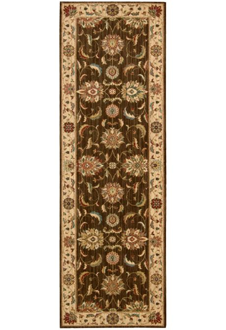 Living-Treasures traditional style rug in brown