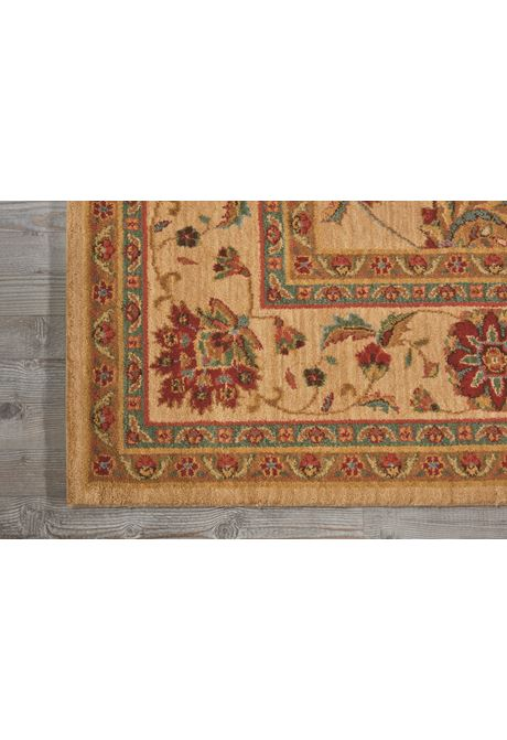 Living-Treasures traditional style rug in ivory