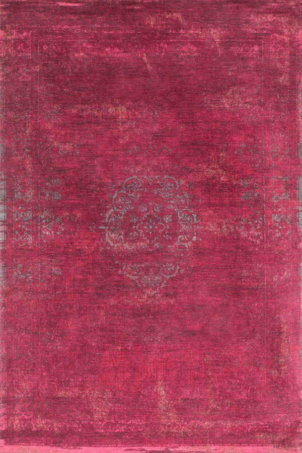Medaillon rug in colour scarlet