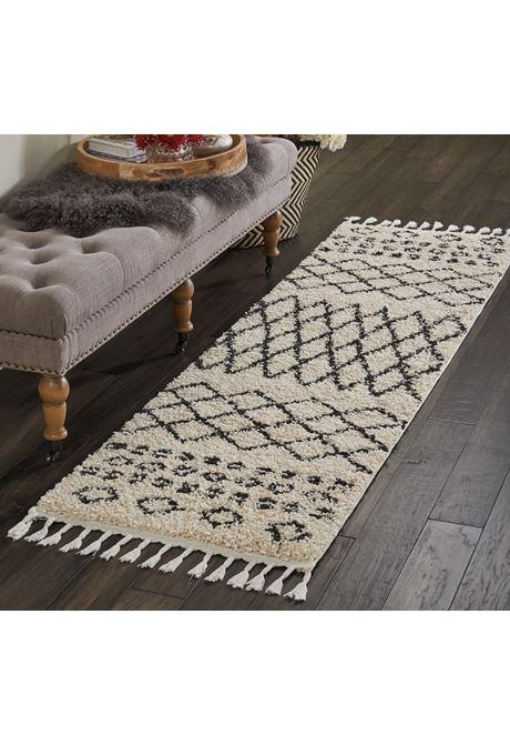 Moroccan shag rug runner