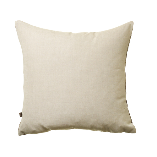 radiance cushion in mink back
