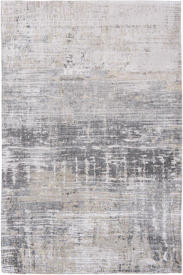 Streaks rug in colour coney grey