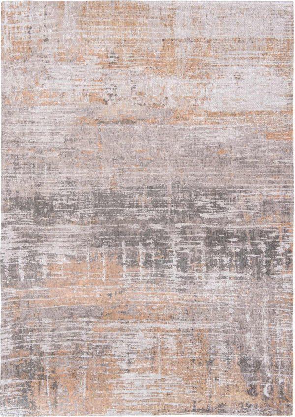 Streaks rug in colour parson powder