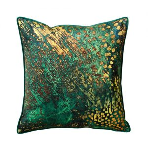 green orche cushion