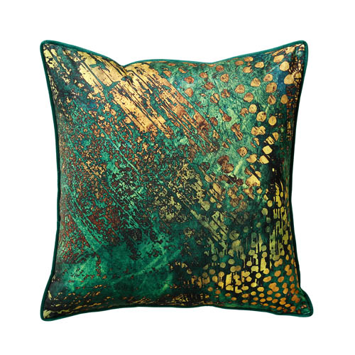 green orche cushion