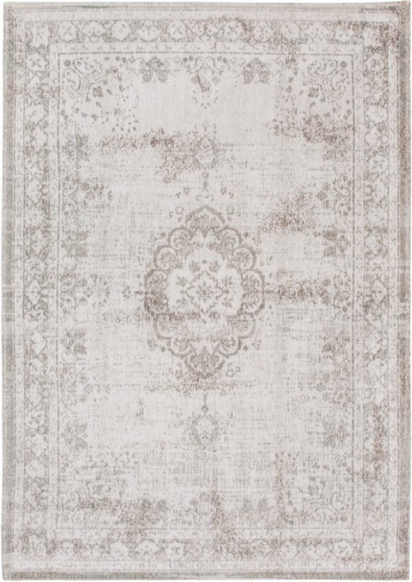 Medaillon rug in colour salt and pepper