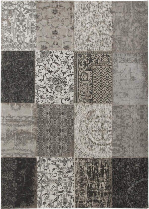 Louis De Poortere Rugs | Vintage Multi Louis De Poortere Rug | Rug & Table Shop Halifax West Yorkshire | 01422 414459 | Vintage multi black and white rug