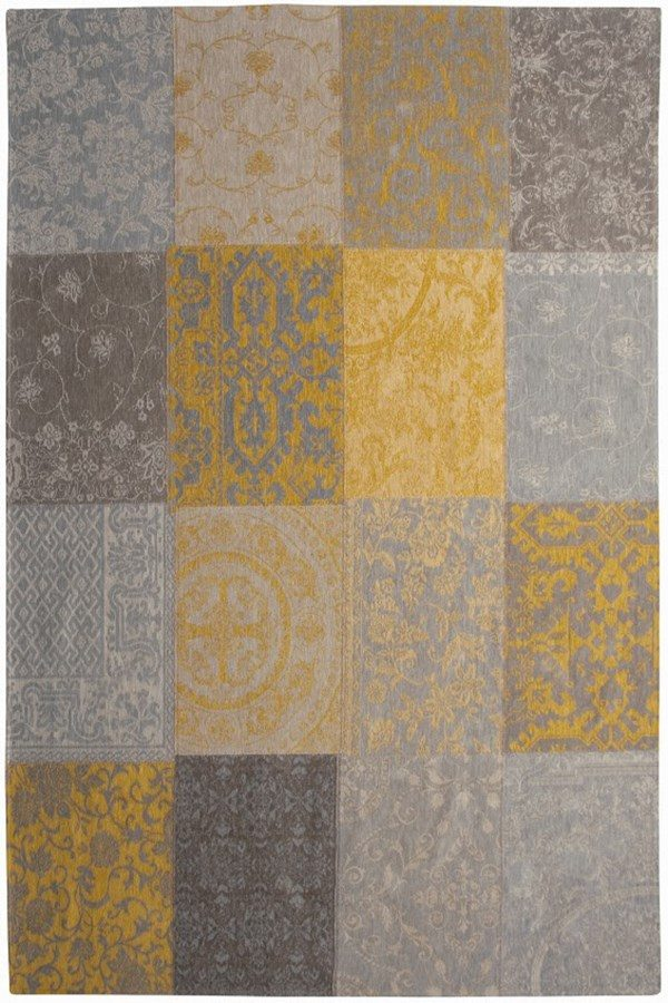 Louis De Poortere Rugs | Vintage Multi Louis De Poortere Rug | Rug & Table Shop Halifax West Yorkshire | 01422 414459 | Vintage multi yellow rug