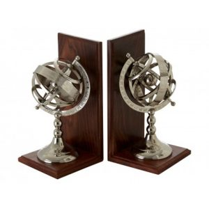 Kensington Townhouse Bookends stock photo