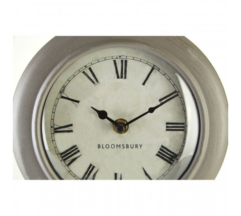 grey Mantle Clock close up