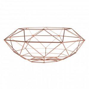 Vertex Fruit Basket in copper