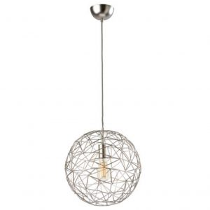 Mesh Large Satin Pendant