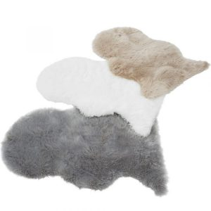 Auckland Faux Sheepskin Rug | Shaggy Rugs | Deep Pile Rugs | Rug & Table Shop Halifax West Yorkshire | 01422 414459