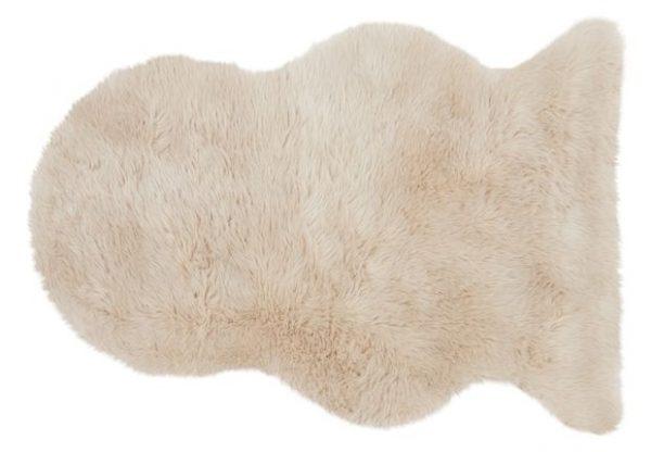 Honey Faux Sheepskin Rug | Shaggy Rugs | Deep Pile Rugs | Rug & Table Shop Halifax West Yorkshire | 01422 414459