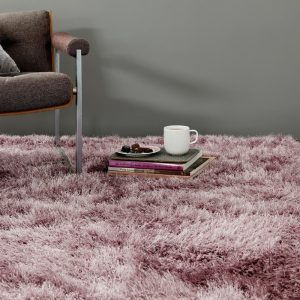 Shaggy Rugs | Deep Pile Rugs | Rug & Table Shop Halifax West Yorkshire | 01422 414459 | Heather Pink Rug