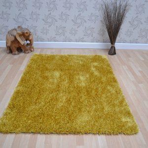 Shaggy Rugs | Deep Pile Rugs | Rug & Table Shop Halifax West Yorkshire | 01422 414459 | Yellow Shaggy Rug