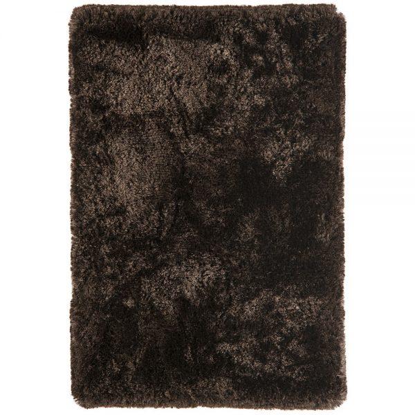 Shaggy Rugs   Deep Pile Rugs   Rug & Table Shop Halifax West Yorkshire   01422 414459   Plush Dark Chocolate Rug
