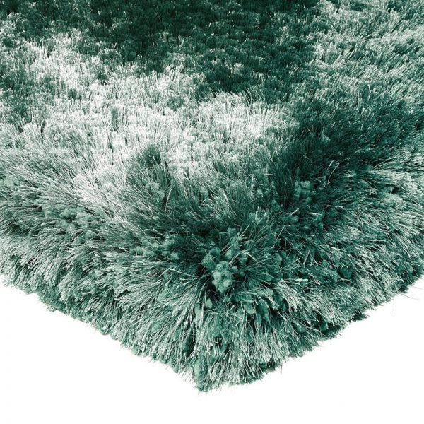 Shaggy Rugs   Deep Pile Rugs   Rug & Table Shop Halifax West Yorkshire   01422 414459   Plush Green Mettalic Rug