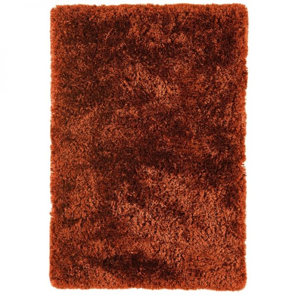 Shaggy Rugs   Deep Pile Rugs   Rug & Table Shop Halifax West Yorkshire   01422 414459   Plush Rust Rug