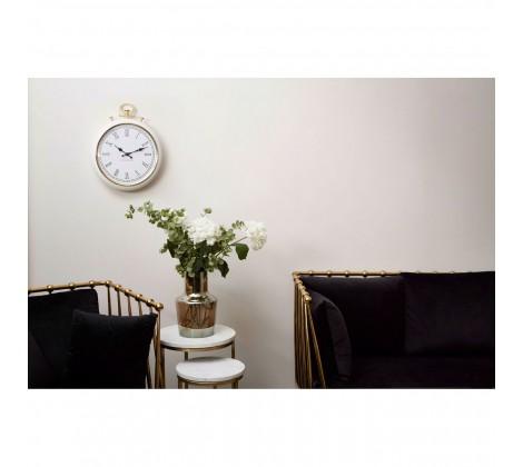 Pocket Style Wall Clock on wall