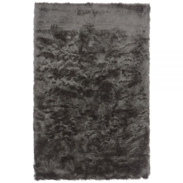 Shaggy Rugs | Deep Pile Rugs | Rug & Table Shop Halifax West Yorkshire | 01422 414459 | Graphite Grey Rug