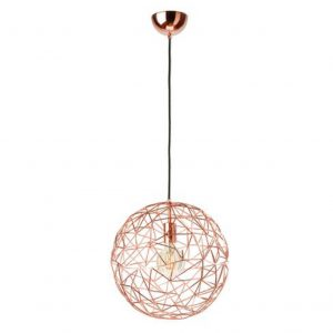 Mesh Large Copper Pendant Lamp
