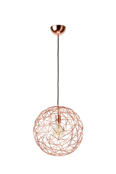 Mesh Large Copper Pendant Lamp The, Copper Mesh Lamp Shade