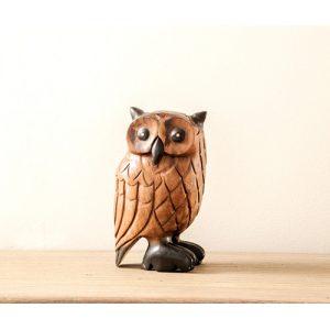 Owl 23cm decor