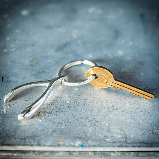 Wishbone Key Ring